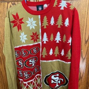 Men's San Francisco 49ers ugly sweater